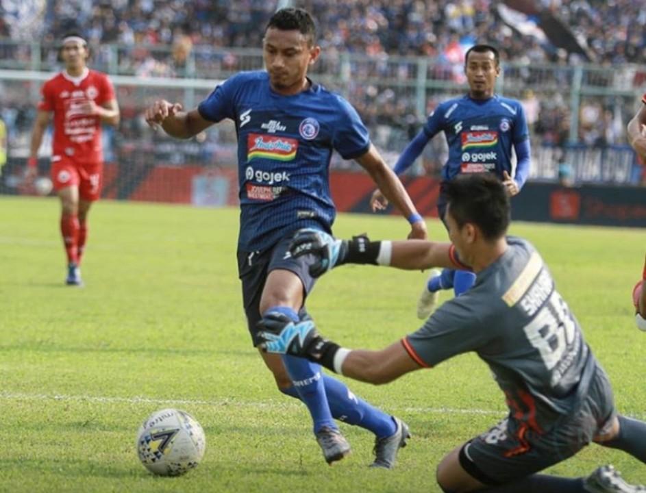 Laga Big Match, Arema FC Vs Persija Berakhir Imbang
