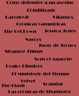 2016: Las series más vistas en CLyA