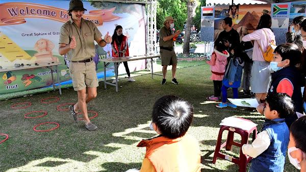 英語課程與國際教育嘉年華 我在彰化玩世界