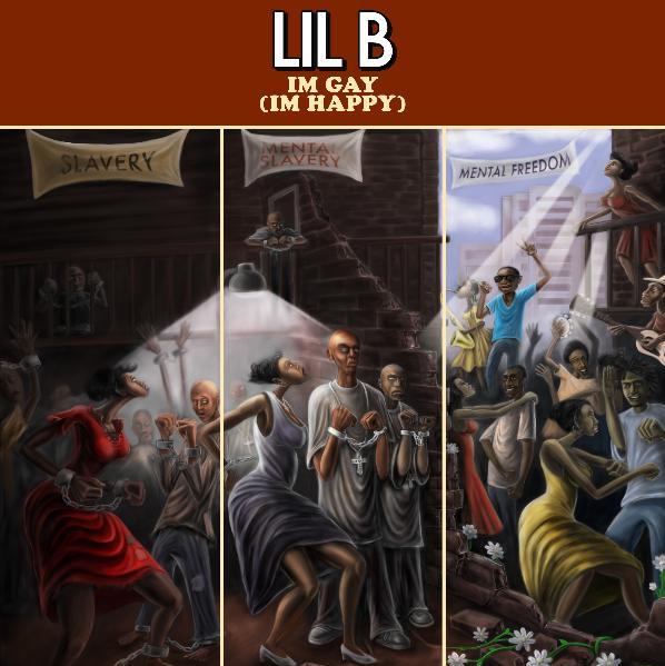 The Witzard: Lil B - I'm Gay (artwork)