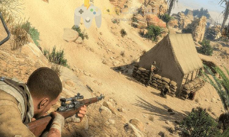 تحميل لعبة القناص Sniper Elite 3