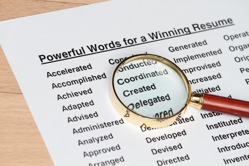 Top 100 Most Powerful Resume Words C V Directory