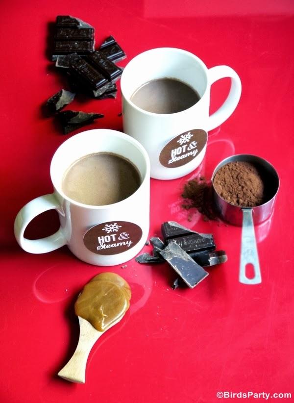 Recette Chocolat Chaud au Caramel Beurre Salé | BirdsParty.fr