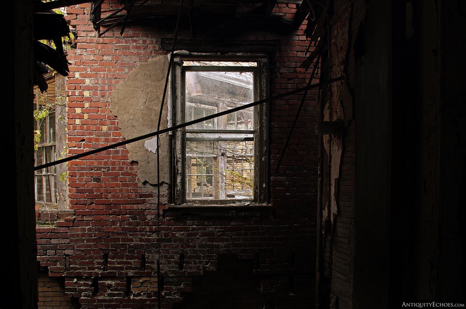 Brownsville General Hospital - Exposed Brick