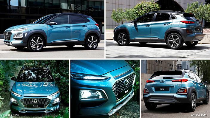 Mẫu Hyundai Kona 2018 Nhập Khẩu Nguyên Chiếc