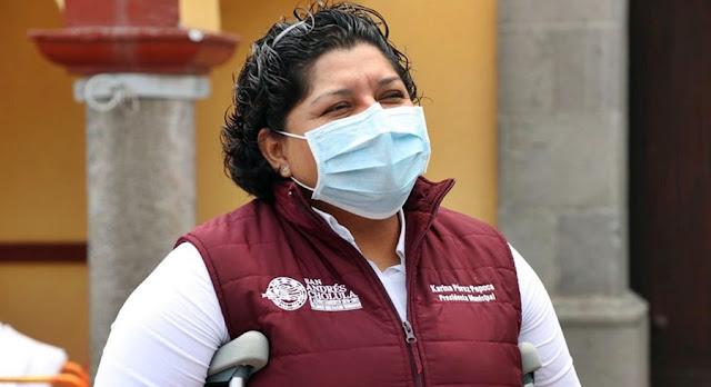 Karina Pérez benefició a empresa consentida de su esposo con contrato de 42 mdp