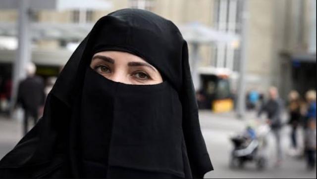 Muslimah Eropa Bercadar