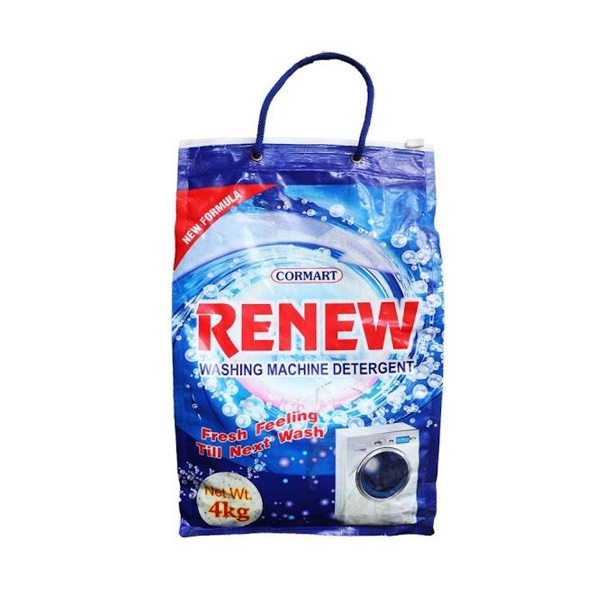 Renew Washing Machine Detergent Pouch 4kg