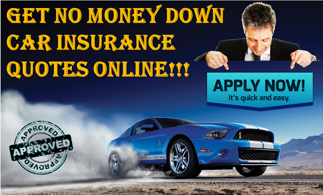 Cheapest Car Insurance With No Money Down