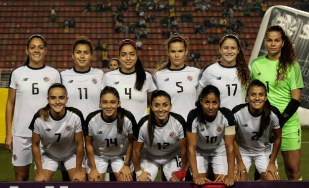 Formación de selección femenina de Costa Rica ante Chile, Torneio Uber Internacional de Futebol Feminino de Seleções, 29 de agosto de 2019
