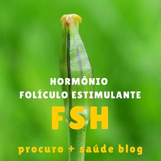 FSH (hormona/ hormônio folículo estimulante)