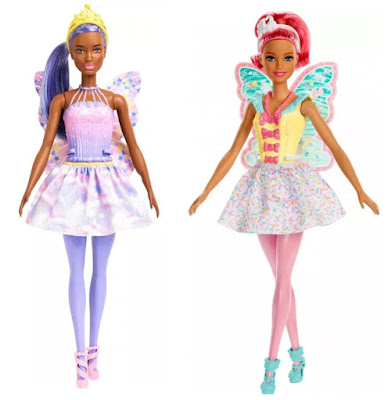 2019 Barbie Dreamtopia Fairy Dolls