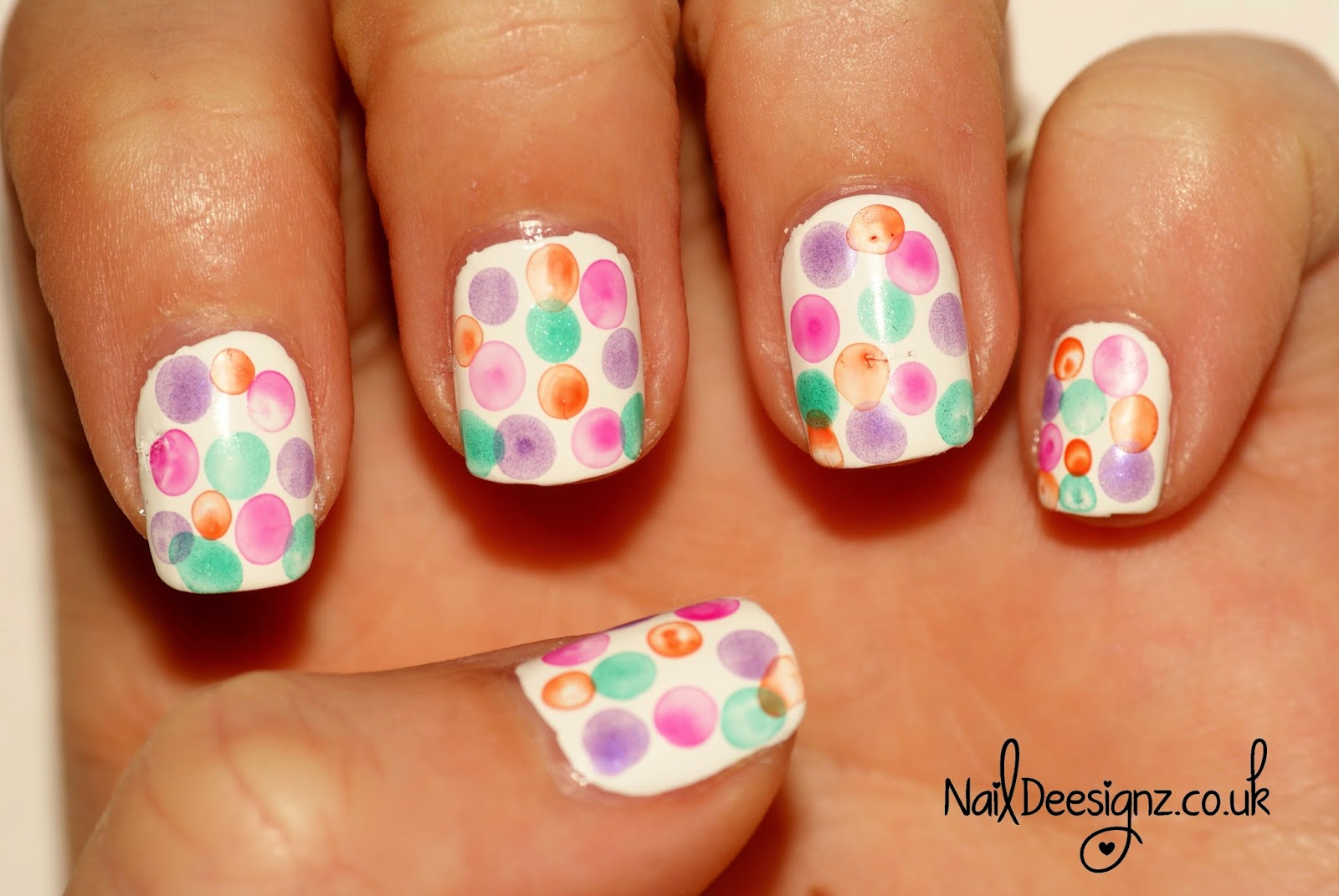 bubble nail art design naildeesignz bubble nail art