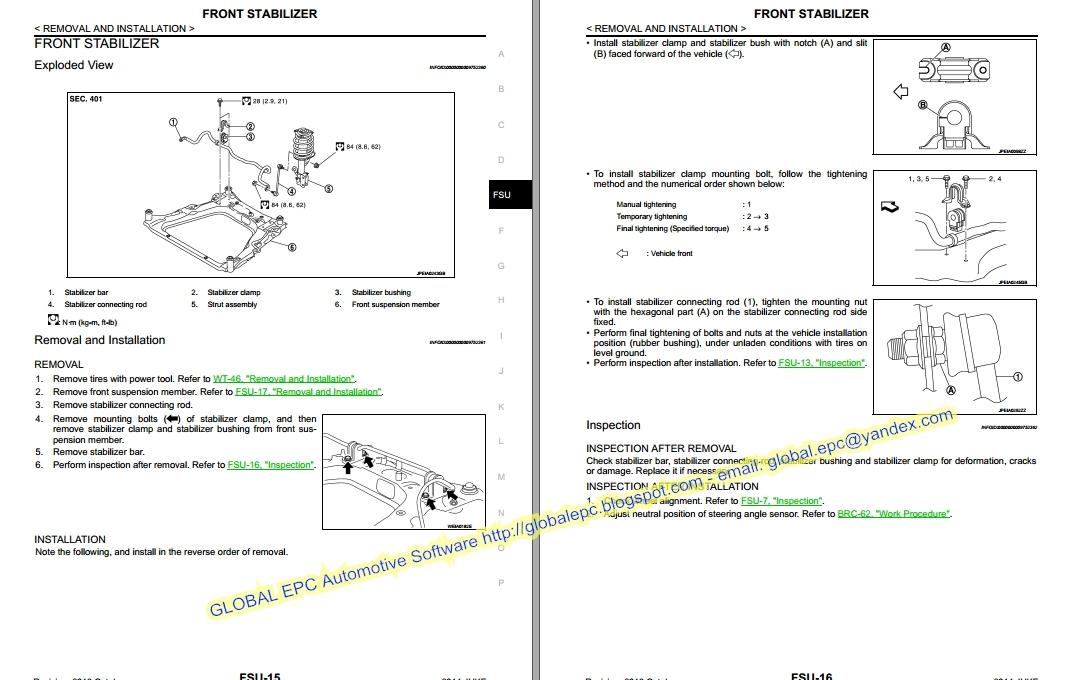 Auto Moto Repair Manuals  Nissan Juke F15 Workshop Repair Manual And Wiring Diagrams