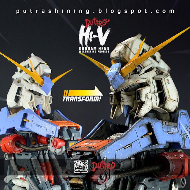 RX-93-ν2 Hi-ν Gundam Head | Customize Weathering by Putra Shining