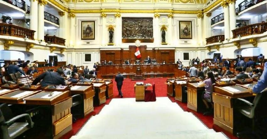 Pleno del Congreso de la República aprobó Ley de la Carrera del Trabajador Judicial
