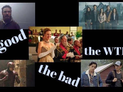 Fall 2018: November TV roundup: the good, bad and the WTF