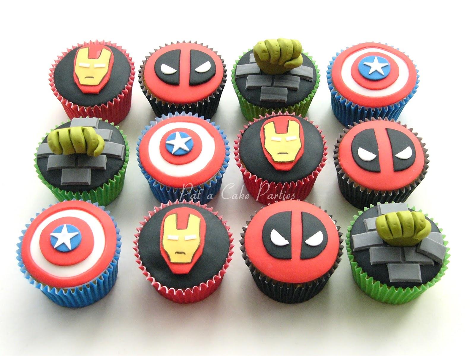 Superhero Birthday Cakes London