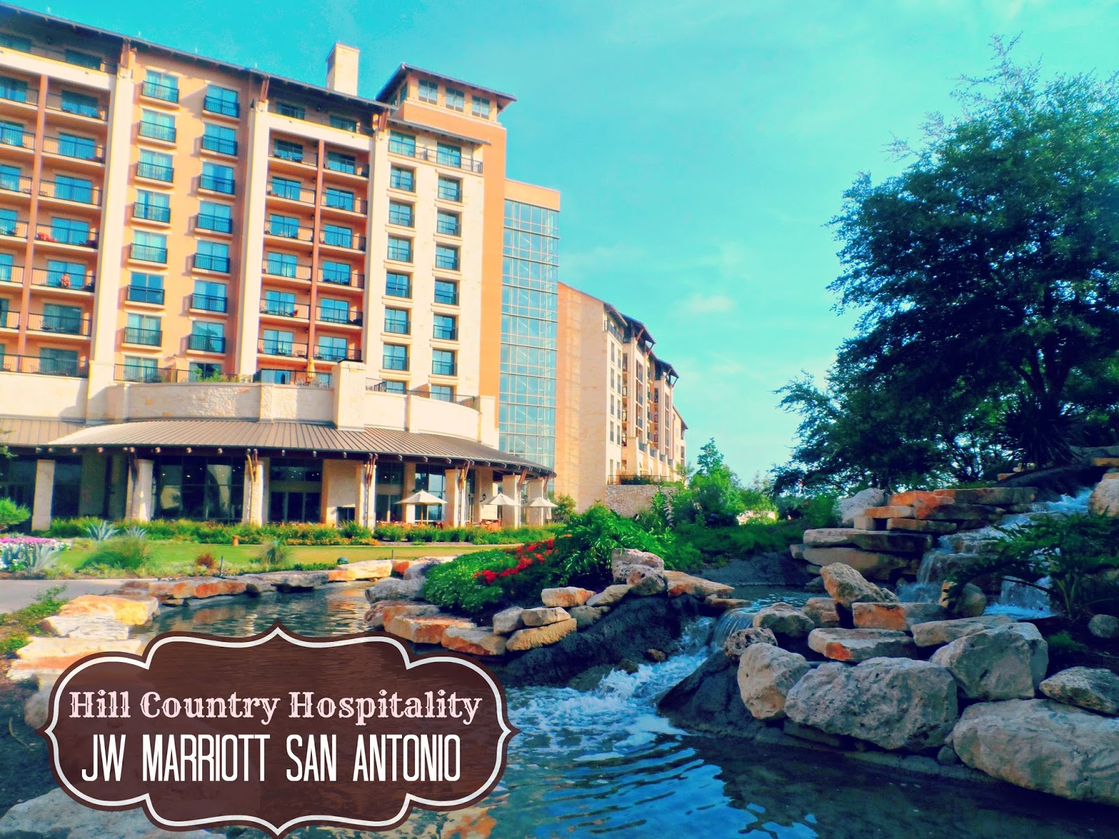 Experience Hill Country Hospitality At The Jw Marriott San