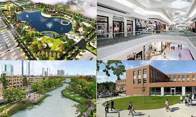 Vị trí dự án Thành Đô River Park