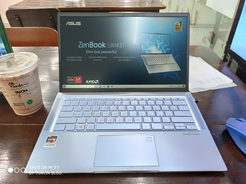 Desain Asus Zenbook 14 UM431DA AM701T