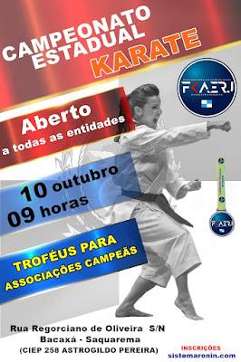 Campeonato Estadual de Karate FKAERJ 2021