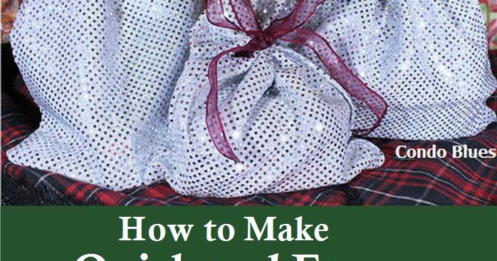 how to make cloth bags