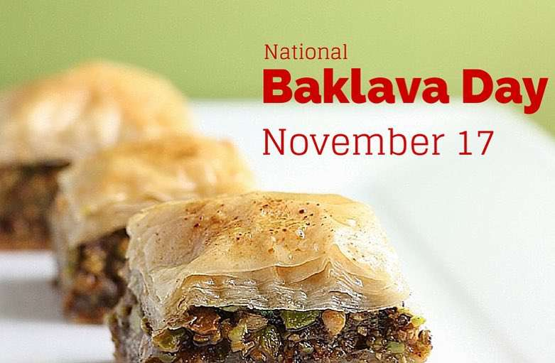 National Baklava Day Wishes for Whatsapp