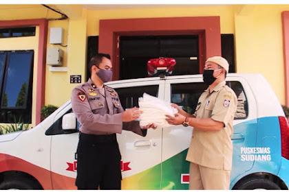 Gerakan 1500 APD Biro SDM Polda Sulsel  Untuk Tenaga Medis Sulawesi Selatan