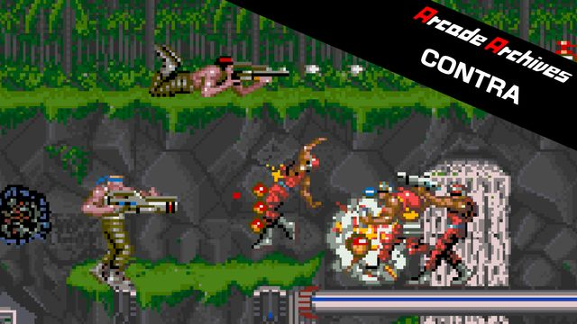 Arcade Archives CONTRA v1.0 NSP XCI For Nintendo Switch