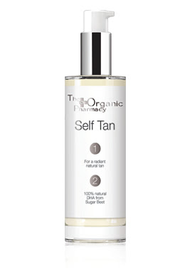 The Organic Pharmacy Self Tan is a natural and organic sunless tan in a bottle