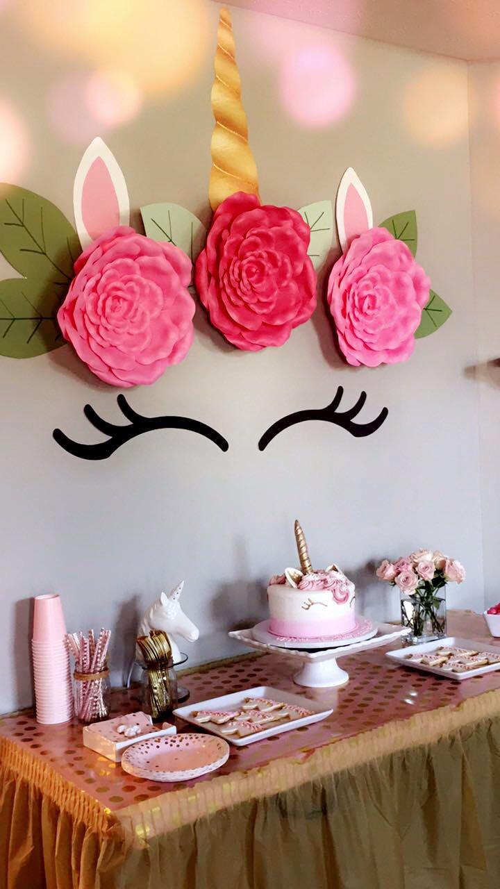 Unicorn Birthday Cake Diy