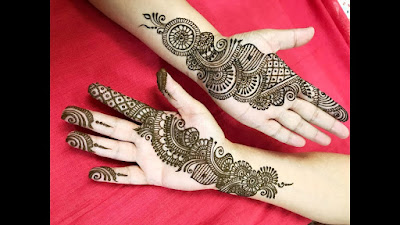 130 Simple And Easy Mehndi Designs For Hands Bling Sparkle