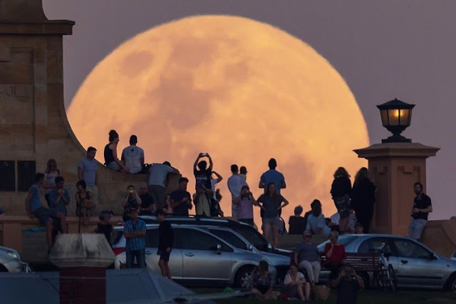 Supermoon 5 di Fremantle