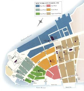 mapa do início de NYC 2