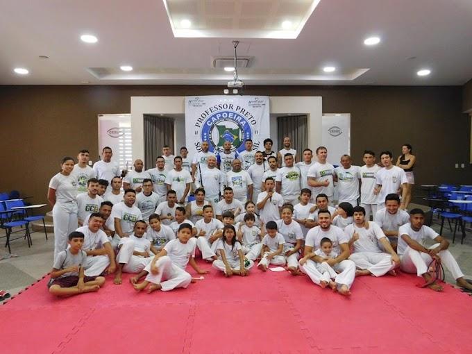Jovens atletas serrotenses participam do 3° jogos kids Capoeira Brasil-Sobral. Confira!