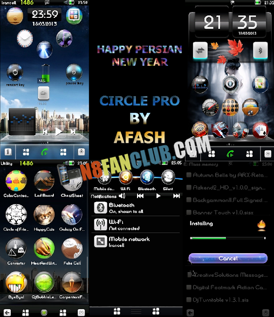 symbian anna black theme