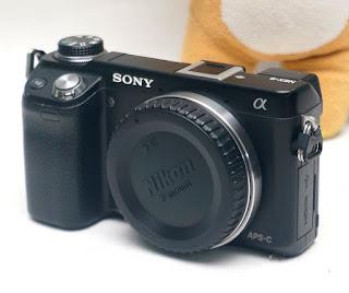 Mirrorless Bekas Sony NEX 6