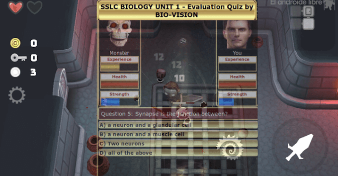SSLC BIOLOGY - UNIT 1 EVALUATION GAME - ENGLISH MEDIUM