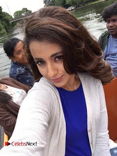 Trisha Stills at Mohini Movie Shooting Spot