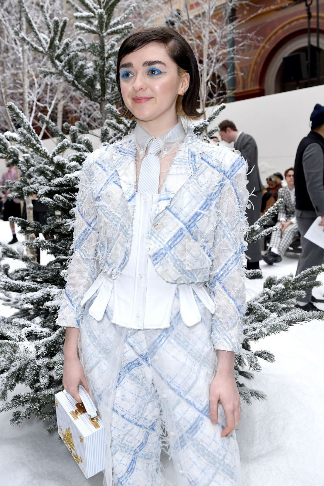 MAISIE WILLIAMS at Thom Browne Show at Paris Fashion Week