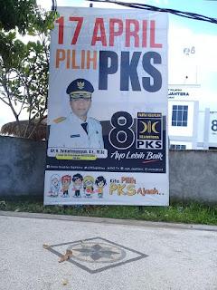 Baligo Kampanye PKS Memuat Foto Doktor Zul Berseragam Gubernur Jadi Sorotan, Bawaslu NTB: Segera Akan Kita Plenokan