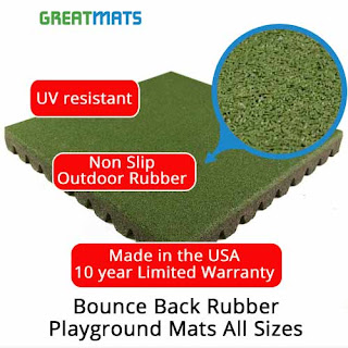Greatmats Bounce Back Playground Tiles Mats