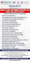 Free Recruitment for Madina Group Qatar