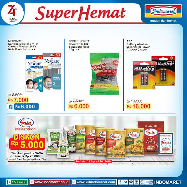 #Indomaret - #Katalog Super Hemat Agustus (s.d 27 Agustus 2019)