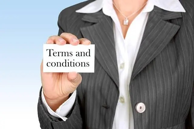 How To Create a Terms and Conditions Page For Your BlogWebsite