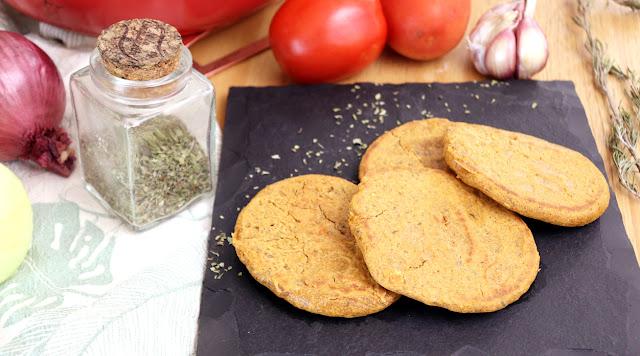 Pão fácil e rápido de tomate e aveia Pensando ao contrário