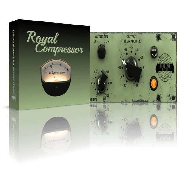 Soundevice Digital Royal Compressor v1.10.0 Full version
