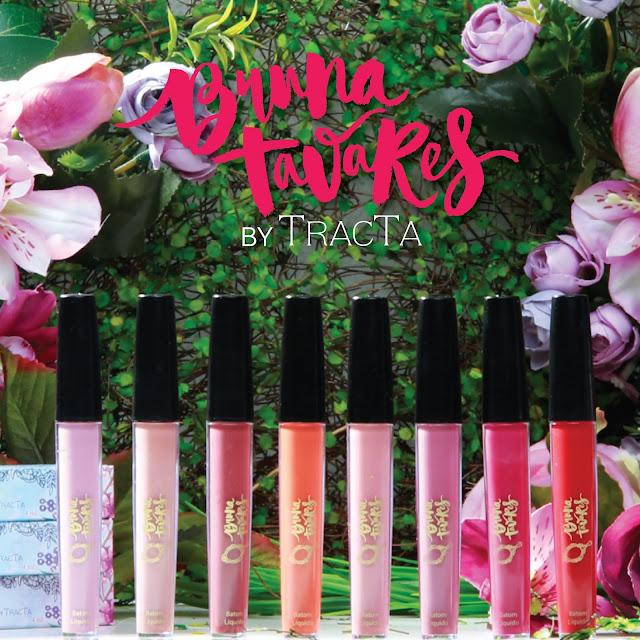 Bruna Tavares lança coleção de batons pela TRACTA