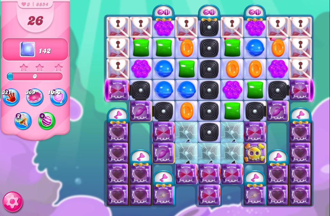 Candy Crush Saga level 8854